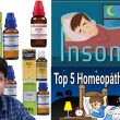 Top 5 Homeopathic medicine for insomnia ? 5