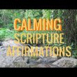 CALMING Scripture: Verses and Affirmations, Soft Music ( anxiety, stress, insomnia) 4